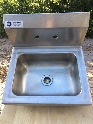 Commercial Stainless Hand Washing Sink