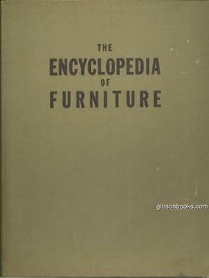 Encyclopedia of Furniture by Joseph Aronson 1945 Illustrated