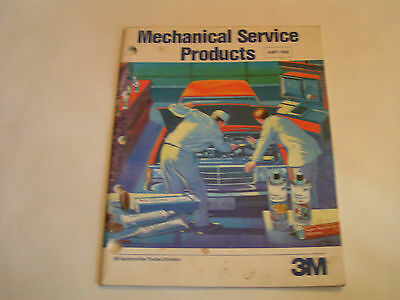 3M Mechanical Service Products Catalog 1987