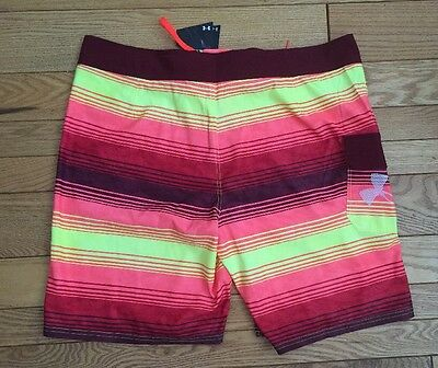 NWT Under Armour Mens Hydro Armour Storm Loose Swim Board Trunks Shorts Sz 40