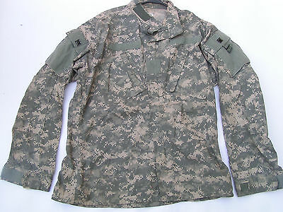 Acu Flame Resistant Army Combat Coat Medium Long (#5A)