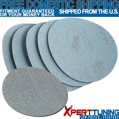 10PC 5Inch 127mm 800 Grit Auto Sanding Disc Bumper Collision Repair Sand Paper
