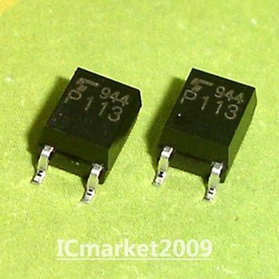 50 PCS TLP113 SMD-5 P113 OPTO IC Isolated Line Receiver