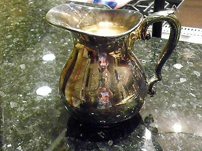 Antique Wallace Silver Water Pitcher Vintage Rare Pattern #999