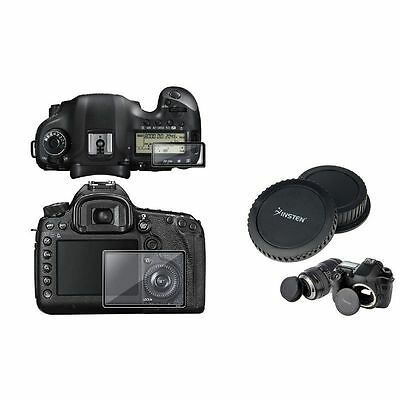 New LCD Screen Protector+Cap For Canon EOS 5D Mark III 5D3 5DIII Free Shipping