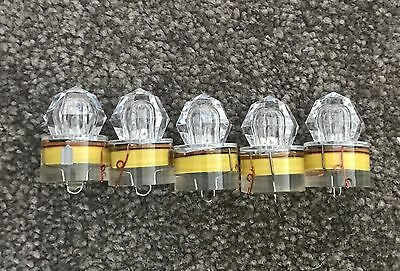 5 x Diamond Sword Fishing Lights Underwater Deep Sea Deep Drop. Multicolour LED