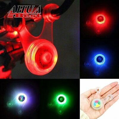 Cycling Bike Bicycle LED Silicone Rear Tail Back Clip Light Hanging Saddle Lamp