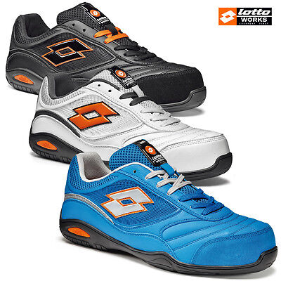 Safety Shoes Lotto Works Energy 500 S1P Srahro Resistant Al Calore