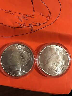 Uncirculated 1964 D Peace Dollar