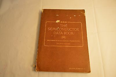 The Semiconductor Data Book Supplement 1 Motorola Forth Edition 1969