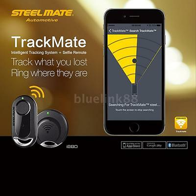 DIY Steelmate TrackMate i880 Car Alarm Anti-lost GPS Tracker System For IOS S2Y7
