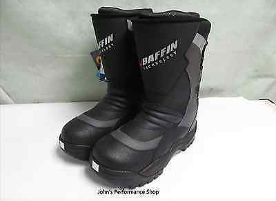 Mens Baffin Black Pivot Boa Snowmobile Boots  11 13