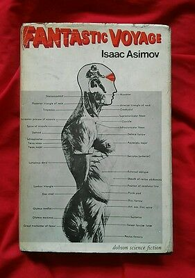 Fantastic Voyage by Isaac Asimov. 1966 first edition