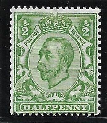 sg 346a ½d Green Downey Head die 2 - No Cross on Crown UNMOUNTED MINT/MNH