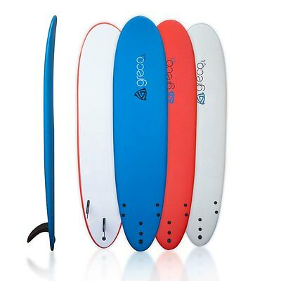 The 2.0 - 8ft Performance Soft Top Foam Surfboard - Greco Surfboards