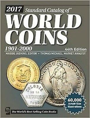 2017 Standard Catalog of World Coins 1901-2000, 44th Ed. KRAUSE, NEW!!!
