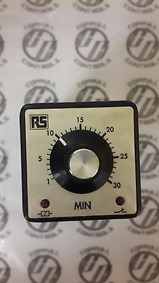 Time Delay Relay 8-Pin 1 - 30 min DPDT 24v dc plug in Octo Base Timer