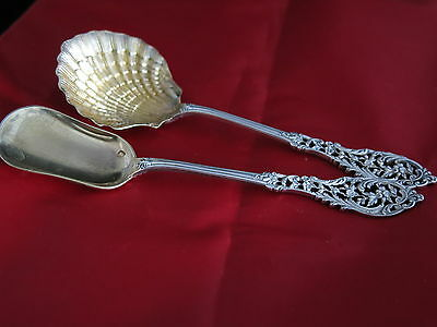 French Silver Strawberry Spoons