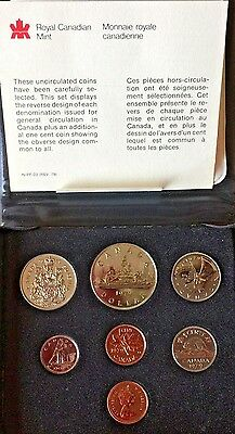 PROOF Coin Set •1979 Royal Canadian Mint • Double Penny •COA