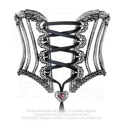 Alchemy Gothic Tightlace Corset Victorian High Fashion Cinching Bangle Bracelet