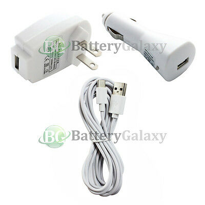 NEW 10FT USB Type C Cable+Car+Home Charger for Motorola Moto Z Force/Play Droid