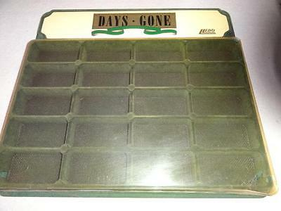Vintage DISPLAY CASE 'DAYS GONE' by LLEDO DIECAST & TOY MODEL MATCHBOX VEHICLES