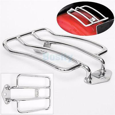 Motorcycle Luggage Rack Rear Holder Loading Shelf for Harley XL883 Motorbike