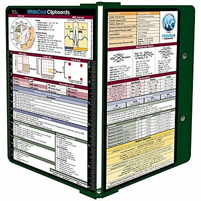 WhiteCoat Clipboard - Forest Green - Medical Edition