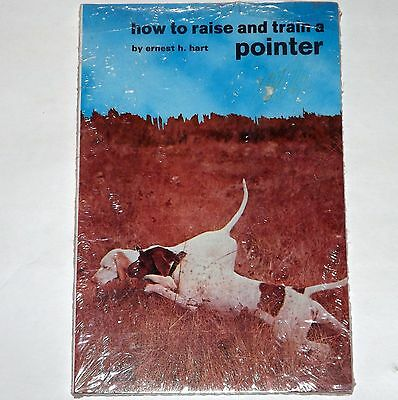 Vintage TFH Dog Book - How to Raise and Train a Pointer- Sealed