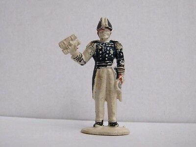 1 x CHARBENS  1960's BRITISH NAVY ADMIRAL PLASTIC TOY SOLDIER  1/32 SCALE ...