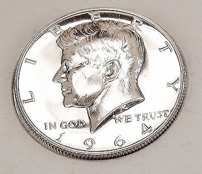 """1964   Kennedy  Proof  90%  Silver  """"Exact  Coin  Pictured""""    #323  24"""