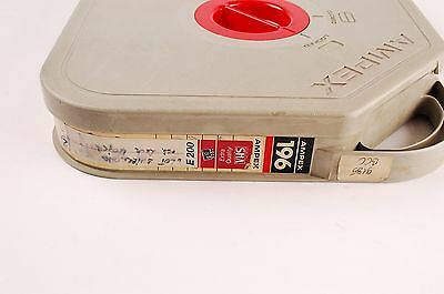 Ampex 196 Video Tape with Case Reel 380