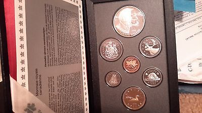 Absolutely Stunning 1995 Canada Double Dollar Proof Set