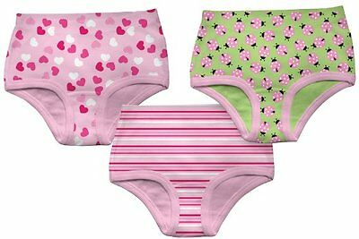 i play Girls' Girl's Underwear 3Pk - Assorted Prints - 2-3 Years