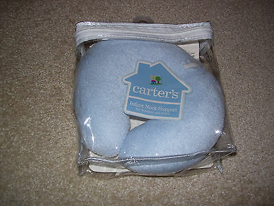 Carter's Infant Neck Support - Blue - New In Package - Never Used