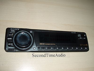 Sony CDX-C910 Faceplate Only- Tested Good Guaranteed!