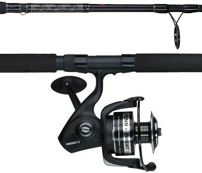 Penn Pursuit II 8000 7' H 1 Pc Rod & Reel Spinning Combo PURII8000701H