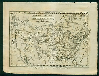 1841 Map of the United States by S.G. Goodrich of Mass.