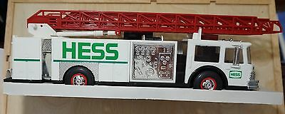 Hess 1989 Toy Fire Truck Lights Flashers Siren  New In Box