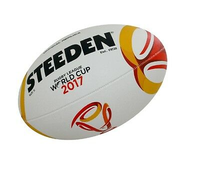 [bargain] Steeden Rugby League 2017 World Cup Replica Ball | Size 5