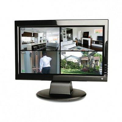 """New Swann 15"""" TFT LCD Full HD Crystal Clear Colour Monitor with HDMI input"""