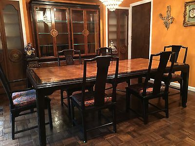 Vintage Century Dining Room Set & Buffet Chin Hua by Raymond Sobota