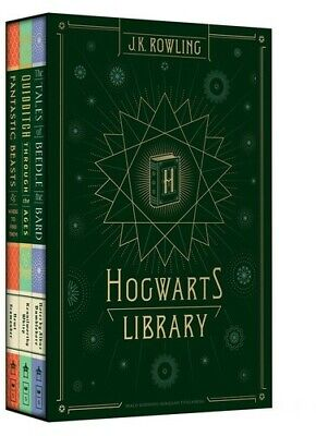 Hogwarts Library  J K Rowling 2017, Book