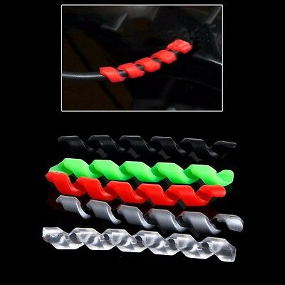 5pcs Bicycle Brake Cable Housing Protector Anti-friction Cycling Bike Line Wrap