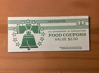 FOOD Stamp Coupon Cover 2$  USDA