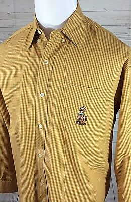 Men's Warner Bros. Scooby Doo Sz Medium Long Sleeve Shirt