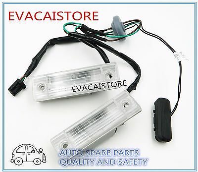 Car Rear Trunk Switch Assembly License Plate Lamp For Chevrolet Cruze 5W 08-13