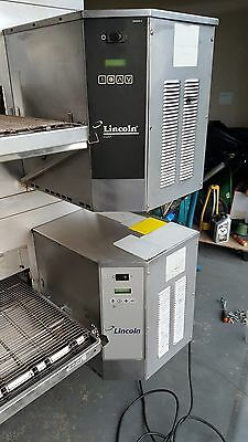 2 lincoln conveyor ovens 1450