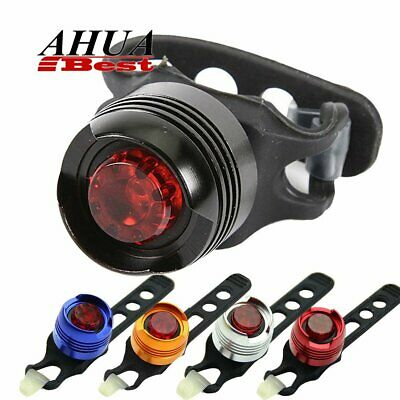 Bicycle Bike Cycling Rear Tail Lights Backpack Helmet Safety Warning Lamp New UK