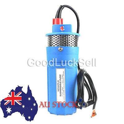 Farm Ranch Household 12V DC Solar Powered Submersible Water Well Pump 230ft Lift
